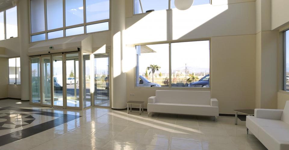 Ψυχιατρική Κλινική Άγιος Νικήτας - Χώρος Υποδοχής - Εσωτερικός χώρος